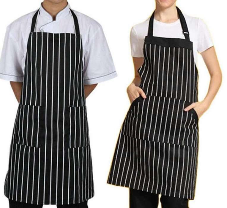 2 Delantales Chef Elegantes
