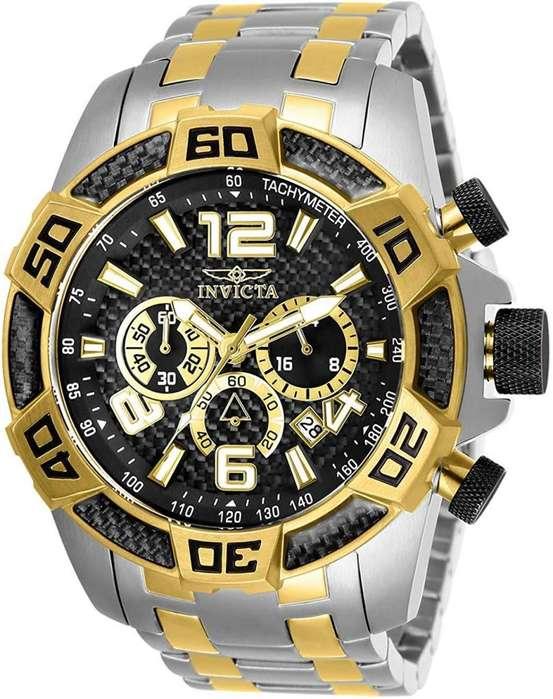 Reloj Hombre Invicta Pro Diver Crono Dual Tone 25856
