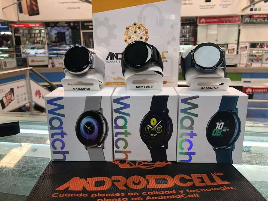 Samsung Galaxy Watch Active importado, nuevo y original disponible en ANDROIDCELLCO.