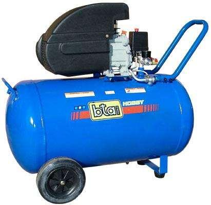 Compresor Bta 2hp 100lts Monofasico