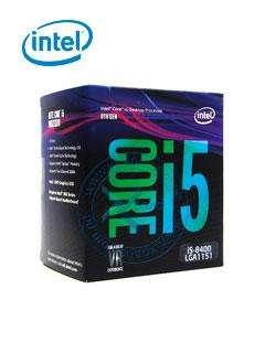 Procesador Intel Core i58400, 2.80 GHz, 9 MB Caché L3, LGA1151, 65W, 14 nm.