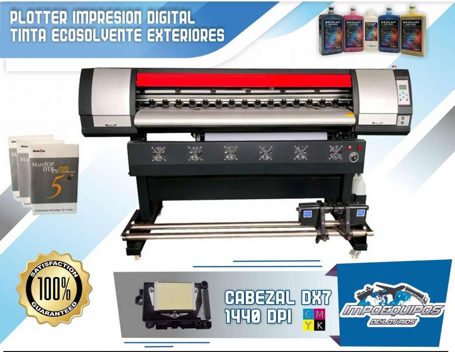 Plotter Impresion Digital Dx7 190cm