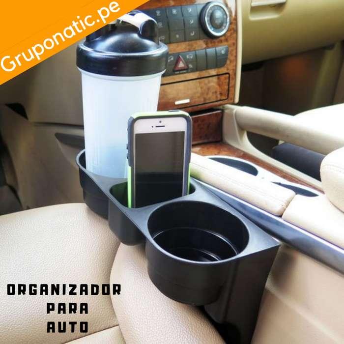 Organizador Auto Para Botellas Y Porta Celular 2017 Gruponatic San Miguel Surquillo Independencia La Molina 941439370