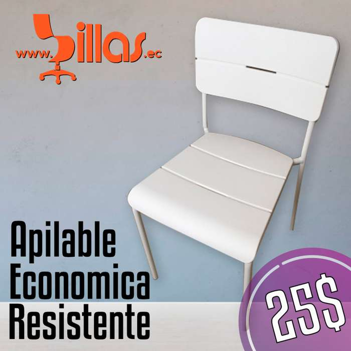 <strong>silla</strong> apilable economica