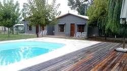 el60 - Cabaña para 2 a 5 personas con pileta y cochera en Lujan De Cuyo