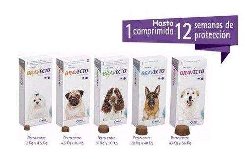 Bravecto Antipulgas para perro todos los tamaños- 3 meses