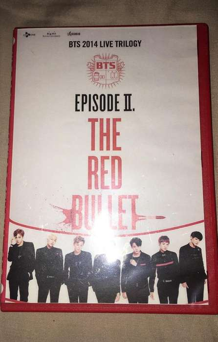 Cd The Red Bullet BTS