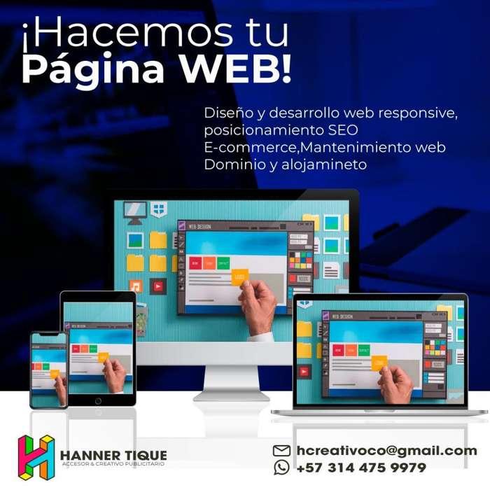 Diseño de paginas web economico