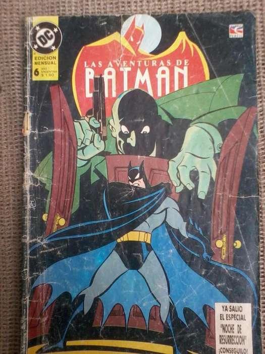 las aventuras de batman comics historieta