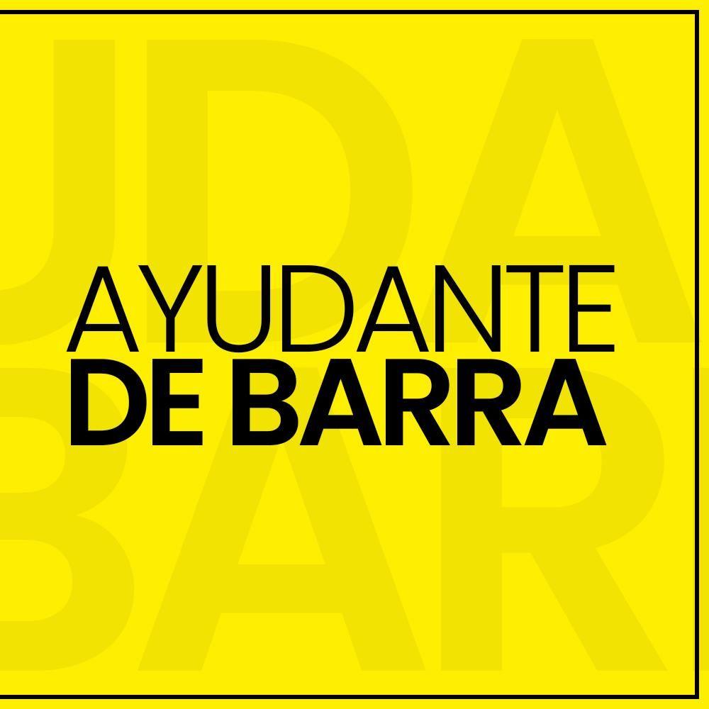 Se requiere ayudante de barra para RESTOBAR en el centro de Tacna