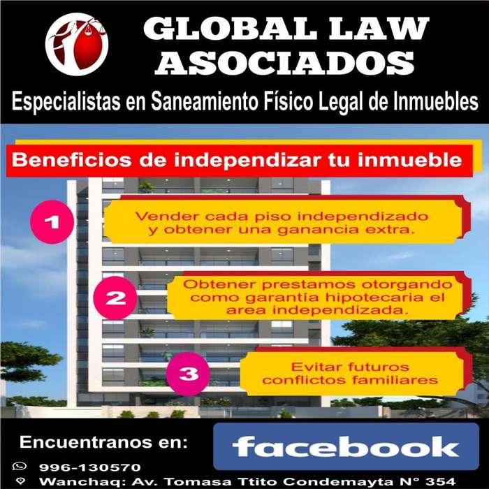 Saneamiento Físico Legal de Inmuebles