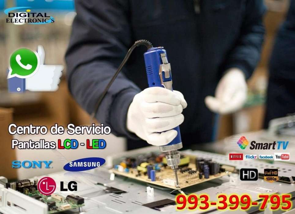 TU SERVICIO DE REPARACION LCD LED PLASMA LED DE CONFIANZA EN TODO LIMA ASISTENCIA TECNICA EN LIMA