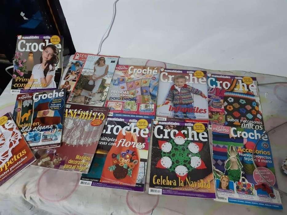 revistas de tejidos