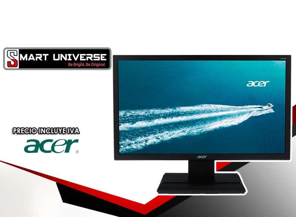 Monitor Acer V206hql 19.5 Pulgadas Led Backlit Lcd