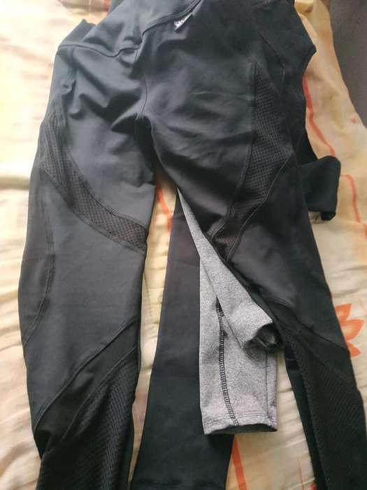 leggings suplex deportivo y fresh terry talla M