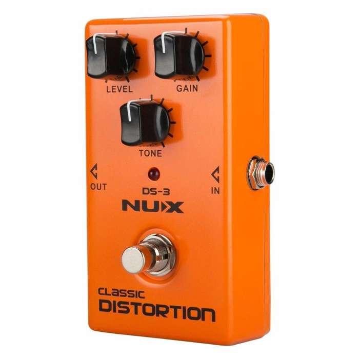 Pedal Nux Ds3 Distorsión Suave Para Guitarra