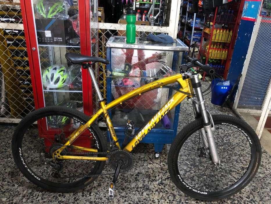 bicicleta de montaña 8 velocidades