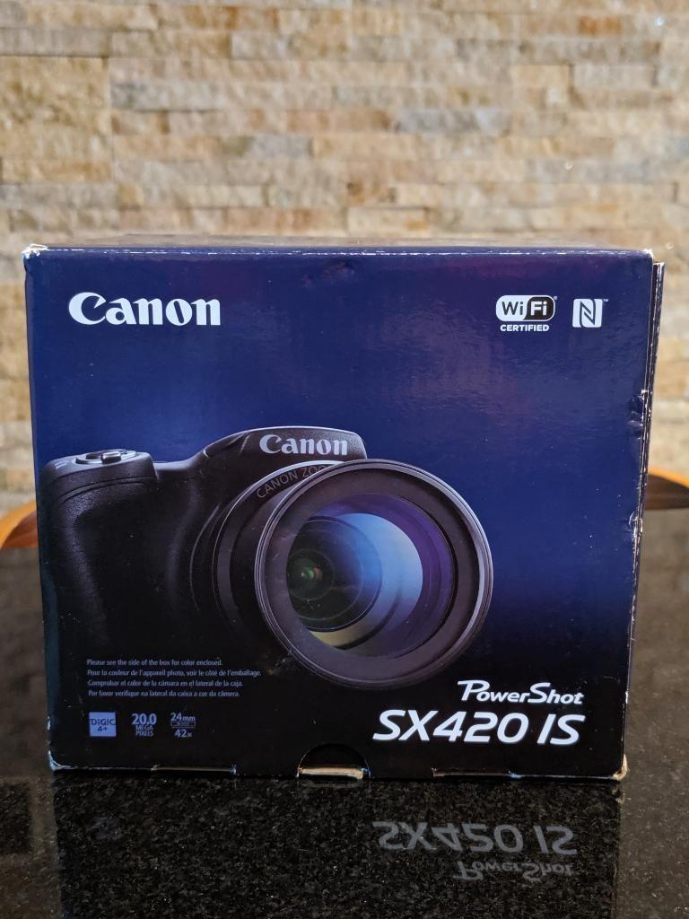 Canon Sx420 Is de 20megapixels. Nuevo