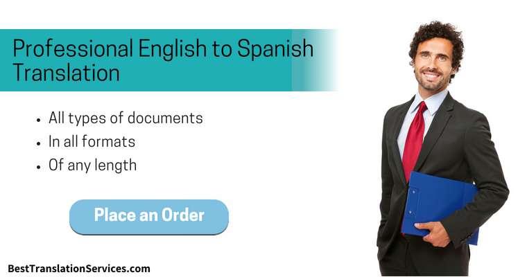 SERVICIO DE TRADUCTOR DE ESPAÑOL A INGLES Y VICEVERSA