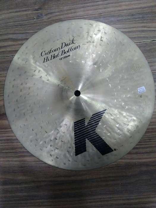Zildjian K Custom Dark 13 Pulgadas