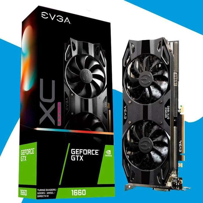Acp - Tarjeta Video Evga Gtx1660 Xc Ultra Gaming Nvidia 6gb