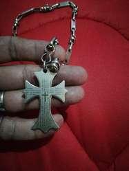 Vendo Cadena en Acero con Crucifijo