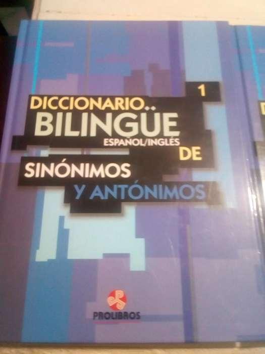 Vendo Dicionarios 1 Y2 Bilingue Y Otros