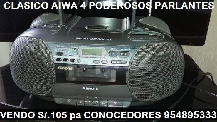 Aiwa 4 poderosos parlantes 954895333