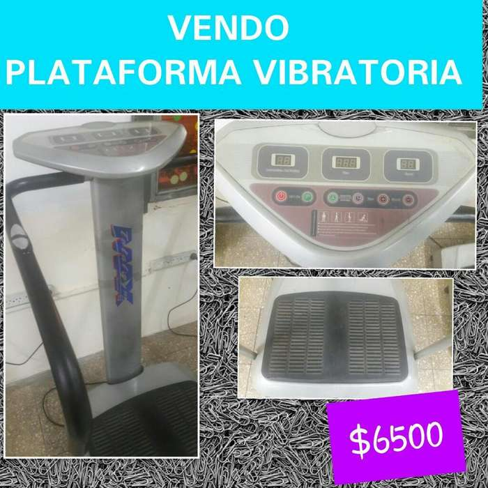 Vendo Plataforma Vibratoria