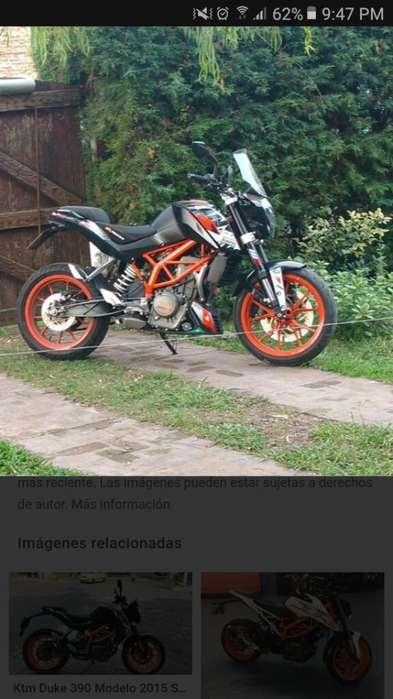 Vendo Moto Ktm Duke 390