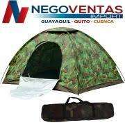 <strong>carpa</strong> CAMPING 2X2 MTS ESTRUCTURA ARMABLE COBERTOR IMPERMIABLE CAMUFLADA