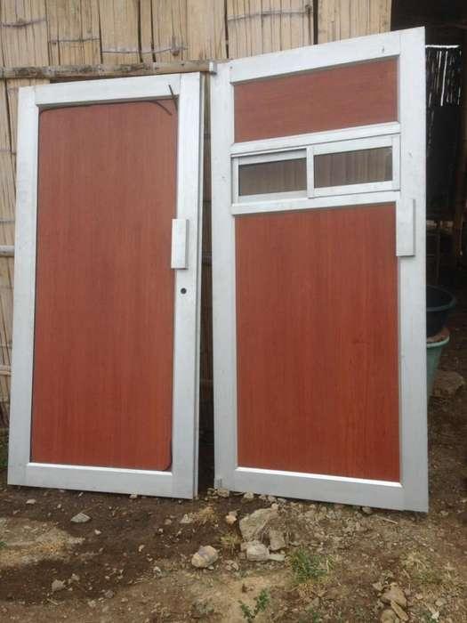 Puertas de marco en aluminio