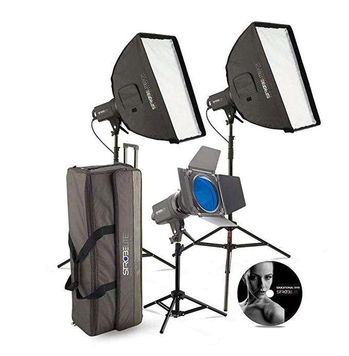 Juego de luces Strobe para <strong>estudio</strong> de fotografía
