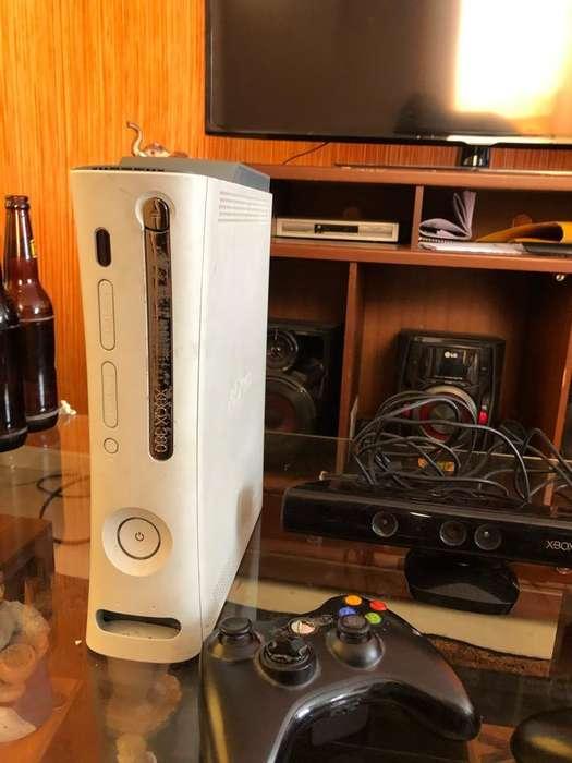 Xbox 360 Dos PalancasKinect 39 Juegos