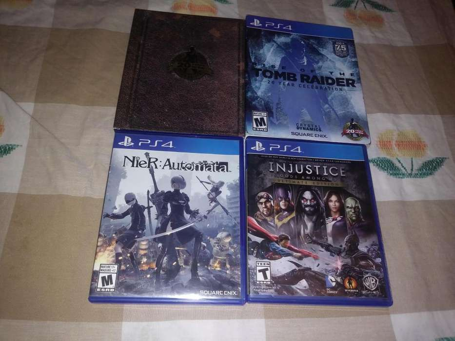 Canje Nier, Injustice y Rise of the Tomb Raider