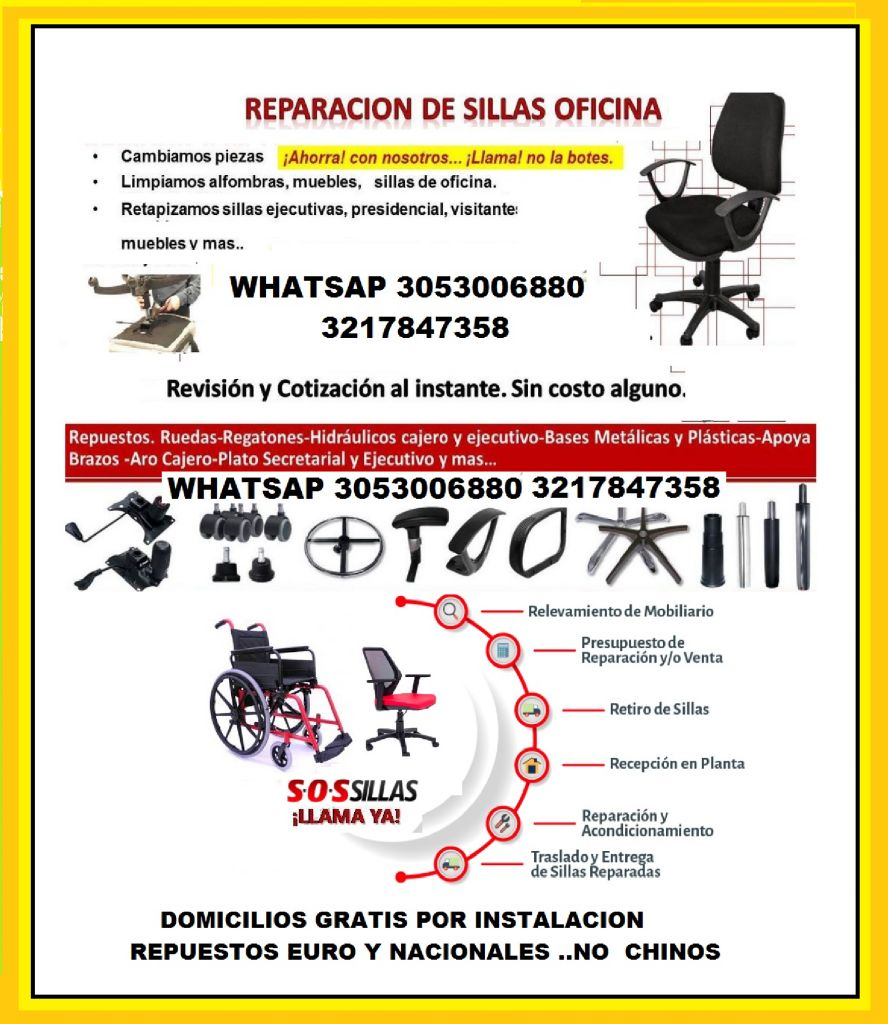 Silla Mantenimiento Oficina P Servicios Colombia 5 8nwm0OvN