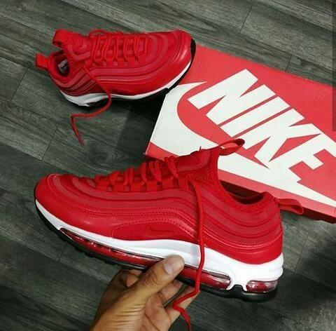 zapatos nike rojo mujer