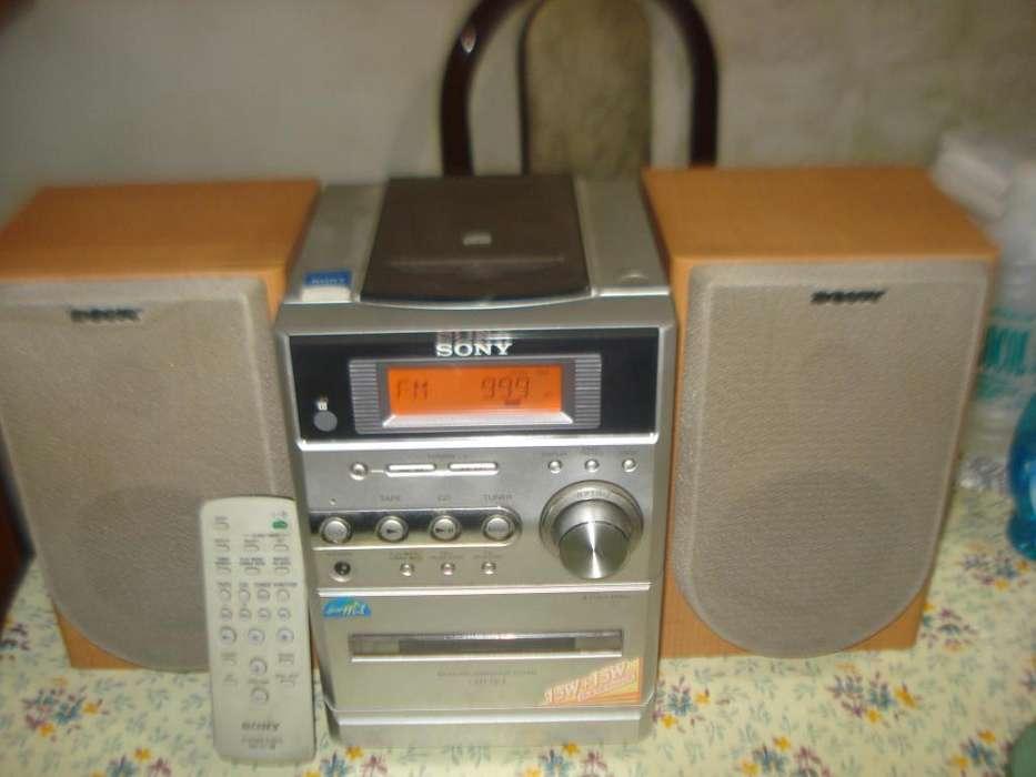 Minicomponente Sony Compacto Cmt Ne3 C/ctrl Orig Sonido Exc