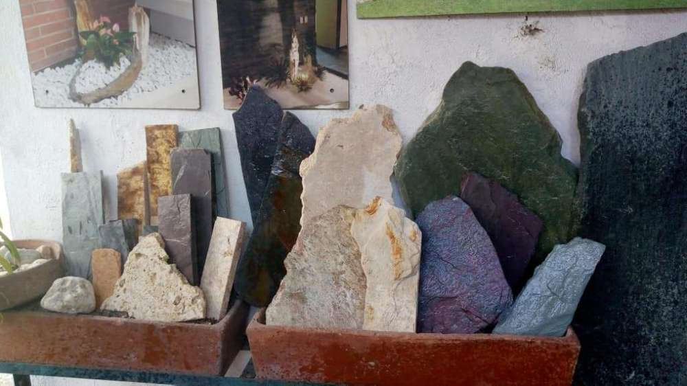 Piedra Laja Jardin Gravilla de acuario