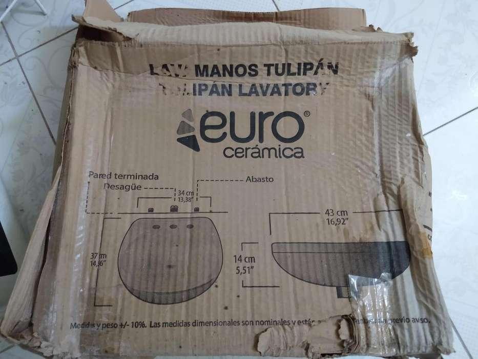 lavamanos euro cerámica nuevo