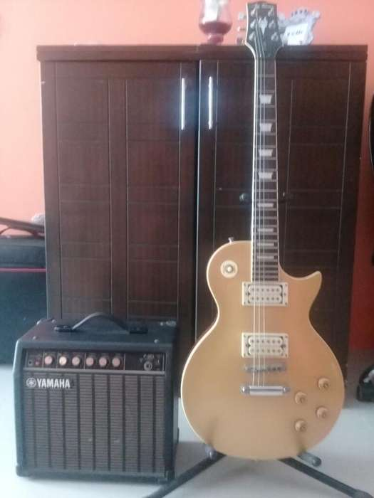 Guitarra Electrica Guibson Amplificado
