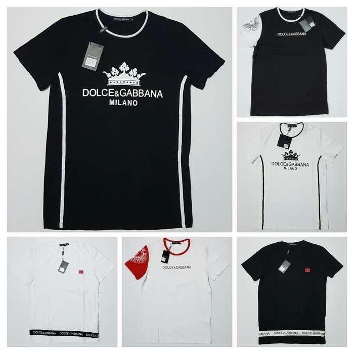 Camisetas Alta Gama Dolce Gabbana