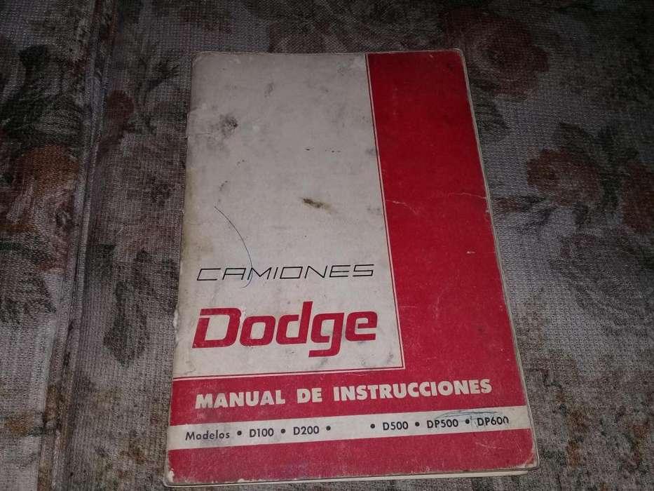 Manual De Instrucciones De Camiones Dodge