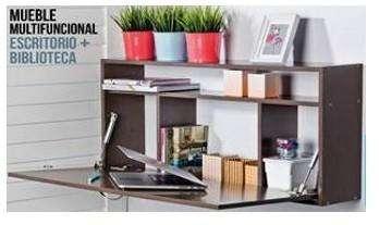 Mueble Multifuncional Biblioteca <strong>escritorio</strong>