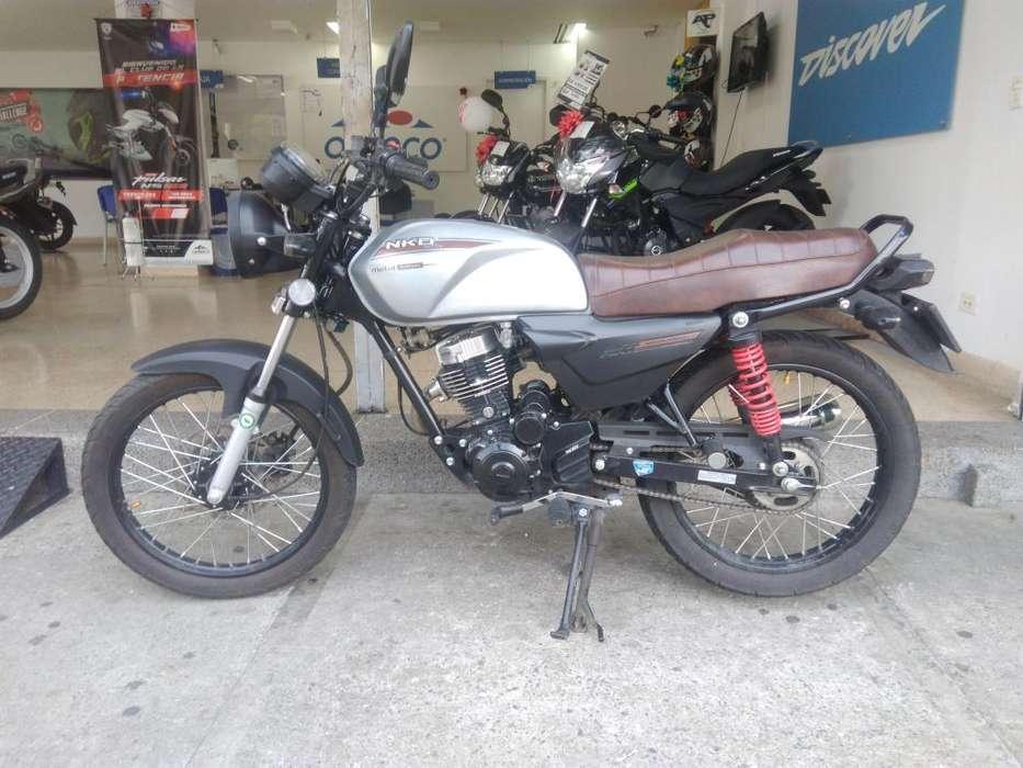 MOTO NKD 125 MODELO 2019 COMO (<strong>nueva</strong>)