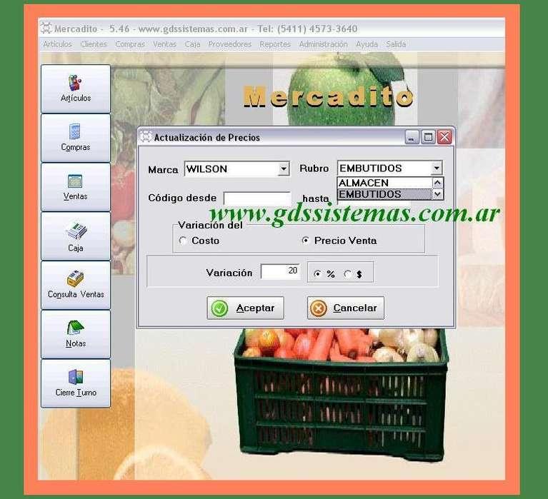 ] Mercadito [] programa para minimercado, almacén, fiambrería, verdulería… software GDS Sistemas