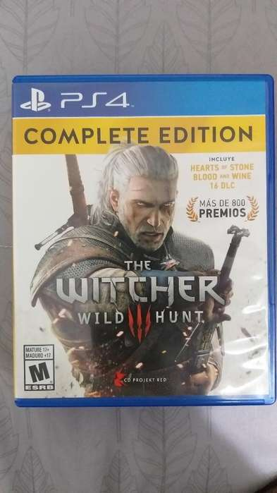 Vendo The Witcher 3 Ps4