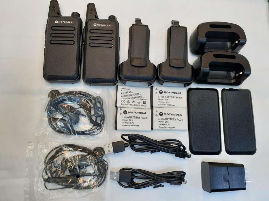 Radios de Comunicacion C1 Uhf (par)
