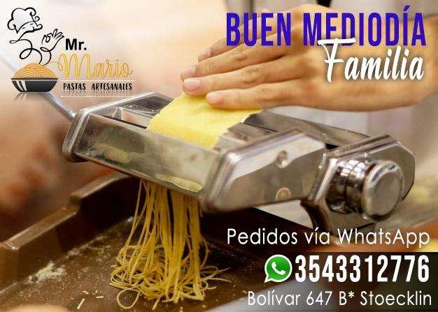 Mr. Pastas Mario Artesanales