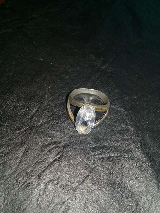 Anillo <strong>plata</strong> Oro Cubic